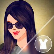 完美的模型女孩打扮亲 - 最好的时尚名人穿衣游戏 1.4