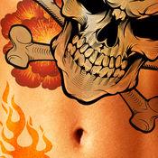 纹身图案的战斗:部落纹身战争游戏 - 免费 / Tattoo Design