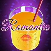 浪漫的冰沙饮料...