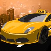 出租车赛车狂热现金:城市行驶的汽车比赛 - 免费版 1
