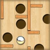 的木质迷宫无穷:银球和深的黑洞 - 免费版 2