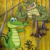 鳄鱼攻击!