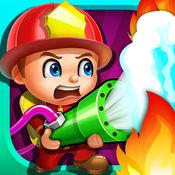 疯狂的消防英雄 - 儿童游戏 1