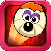 轧小狗精简版 - 粉碎狼 :搞笑下垂反弹加速器免费游戏 - 最