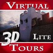 罗马军队的防御工事在英国。哈德良长城 - 3D虚拟旅游及旅