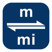米换算为英里   m换算为mi 3.0.0