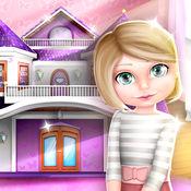 娃娃屋装修设计: 与我们惊人的新游戏的女孩设计自己的娃娃