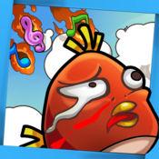 坑爹鸟-世界第一的声控游戏,睡觉前必玩,适合小孩子 2.3