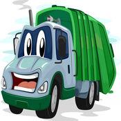大垃圾车! 城市垃圾车游戏的孩子 1.2