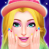 时尚明星美容院 - 化妆和装扮游戏 2