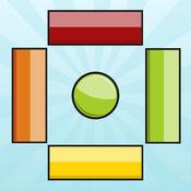 Sorting Frenzy 排序疯狂速度反应测试游戏 - 匹配相同颜色
