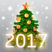 圣诞卡2017年 (圣诞树) 1.2.0