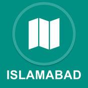 伊斯兰堡,巴基斯坦 : 离线GPS导航 1