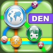 丹佛(美国)地图 - 下载RTD地图和旅游指南