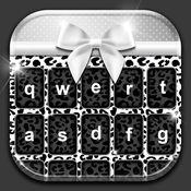 黑与白 键盘主题 定制 表情符 花式字体