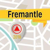 弗里曼特爾 离线地图导航和指南 1