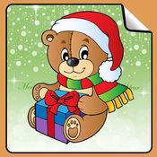 圣诞节贴纸书!