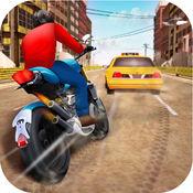 激情摩托车比赛...