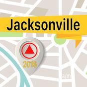 杰克逊维尔 离线地图导航和指南 1