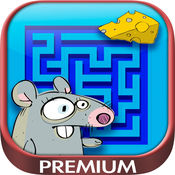 迷宫 - 逻辑儿童游戏 - 高级 1