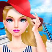 夏日游艇派对 - 女生夏季化妆换装