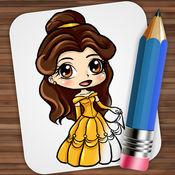 绘图童话公主 1