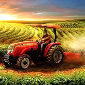 农场 模拟器 游戏 : 柴油机 拖拉机 收成 1