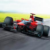 快速的公式的疯狂赛车  宣泄愤怒赛马场的现代公式