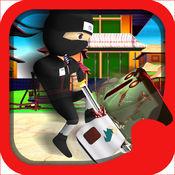 皇家宝贝忍者VS僵尸简单的3D免费游戏