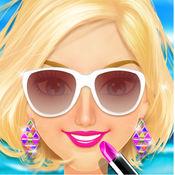 沙滩少女美容沙龙 - 画个美美的妆享受热情的夏天吧!