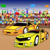 超级跑车着色书游戏 1