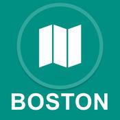 马萨诸塞州波士顿 : 离线GPS导航 1
