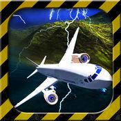 机场紧急迫降3D - 市机的飞行员模拟