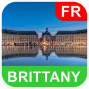 法国布列塔尼 离线地图 - PLACE STARS