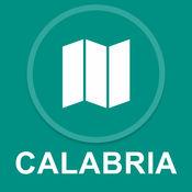 卡拉布里亚,意大利 : 离线GPS导航 1