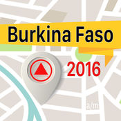 布基纳法索 离线地图导航和指南