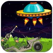 外来侵略者飞船攻击 - 地球卫士吉普队 FREE 1