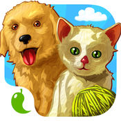 Amazing Baby Animals Puzzle and Coloring Book - 游戏的