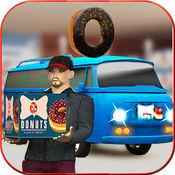 甜甜圈工厂:送货卡车
