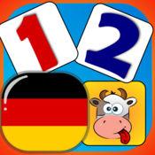 宝贝 匹配和学习 - 在德国的数字。 1