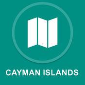 开曼群岛 : 离线GPS导航