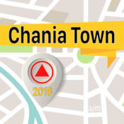 Chania Town 离线地图导航和指南 1