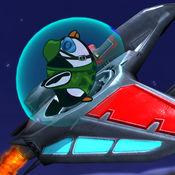 空袭企鹅轰炸机...
