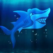 惊人的鲨鱼进化水亲赛 - 酷赛车速度的街机游戏