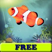 鱼的幼儿 - 儿童游戏 - 彩页 - 儿童水族馆 - 免费
