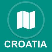 克罗地亚 : 离线GPS导航 1