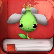醜小花,渴望成长的花儿 ! 动画 故事书