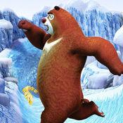 熊出没冰雪跑酷:金刚地铁酷跑逃亡