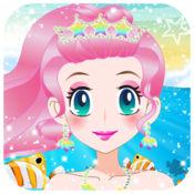 可爱人鱼公主 - 女生游戏