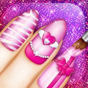 可爱的指甲图案 游戏- 修指甲的女孩 1.2